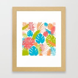 Tropical Brights Framed Art Print