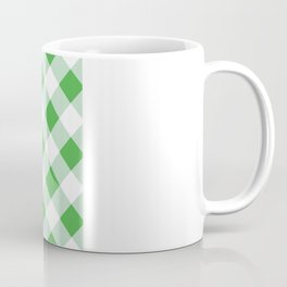 Gingham - Green Coffee Mug