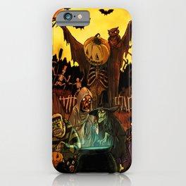 HALLOWS EVE iPhone Case