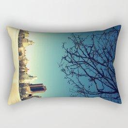 Frozen shadows Rectangular Pillow