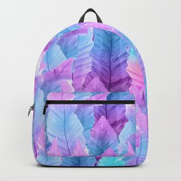 Mermaid Colored Leaves Vibes #1 #decor #art #society6 Backpack