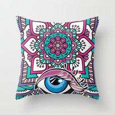 Ojo de Dios Throw Pillow