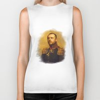 replaceface Biker Tanks featuring Simon Pegg - replaceface by replaceface