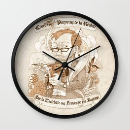 Autoportrait Wall Clock