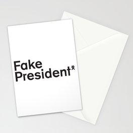 Trump. Fake President. Stationery Cards