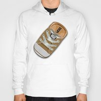 vans Hoodies featuring Cute brown Vans all star baby shoes apple iPhone 4 4s 5 5s 5c, ipod, ipad, pillow case and tshirt by Three Second