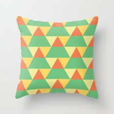 The Trees Change Throw Pillow