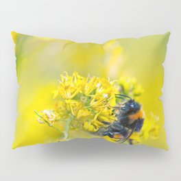 Bee Happy in Yellow Pillow Sham