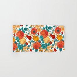 Vintage flower garden Hand & Bath Towel