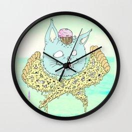 PIZZACAT I Wall Clock