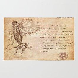 Miskatonic surgery - Elder Thing  (Vetusincola echinomorpho) Rug