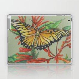 Gulf Fritillary Laptop & iPad Skin