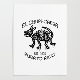 El Chupacabra Poster