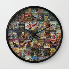Vintage childrens' mystery series books Wall Clock