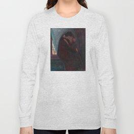 The Kiss - Edvard Munch Long Sleeve T-shirt