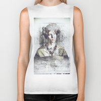 ginger Biker Tanks featuring GINGER by vlphotography