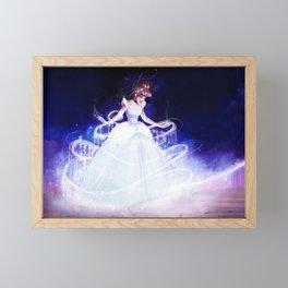 To the Ball Framed Mini Art Print