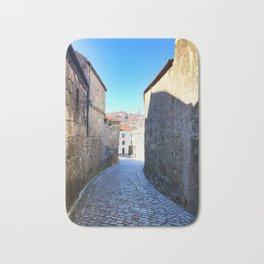 Streets of Vila Nova de Gaia Bath Mat
