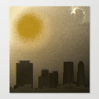 miami Canvas Prints featuring Miami by Maria Julia Bastias