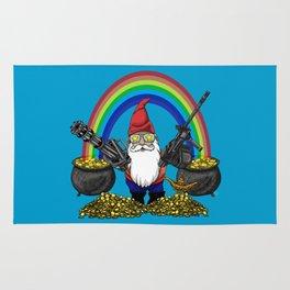 Gnome Guns Rug