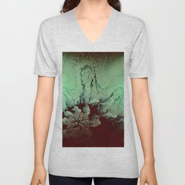 Disappearing World Unisex V-Neck