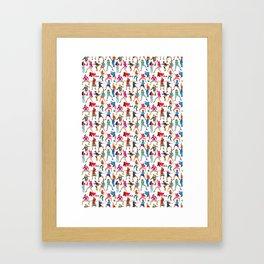 Dance, Dance, Dance! Framed Art Print