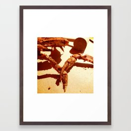 I'm taking you with me, dammit! Framed Art Print