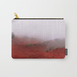 Red Land Carry-All Pouch