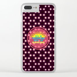 I'm A Freaking Ray Of Sunshine Clear iPhone Case