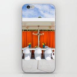 Orange Al Fresco iPhone Skin