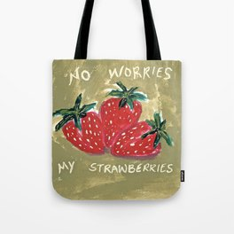 My Strawberries Tote Bag