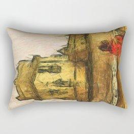 travel sketches  Rectangular Pillow
