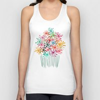 matisse Tank Tops featuring Flower Bouquet by Picomodi