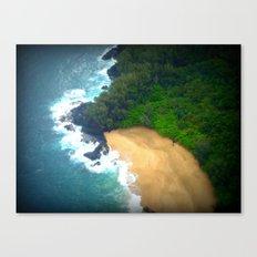 Drop Me Into Paradise Canvas Print