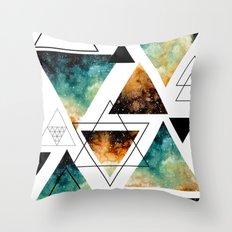 Galaxy Geometric Pattern 16 Throw Pillow