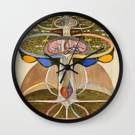 """Hilma af Klint """"Tree of Knowledge No. 1"""" Wall Clock"""