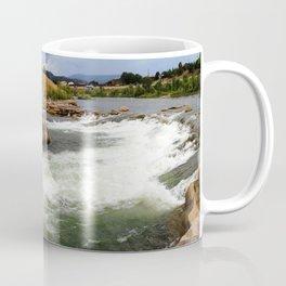 Kayak Practice Rapids in Durango Coffee Mug