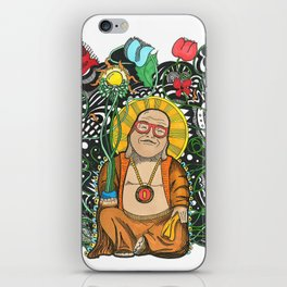 Bamboo Buddha iPhone Skin