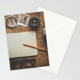 Vintage Travel/Adventure Accessories Stationery Cards