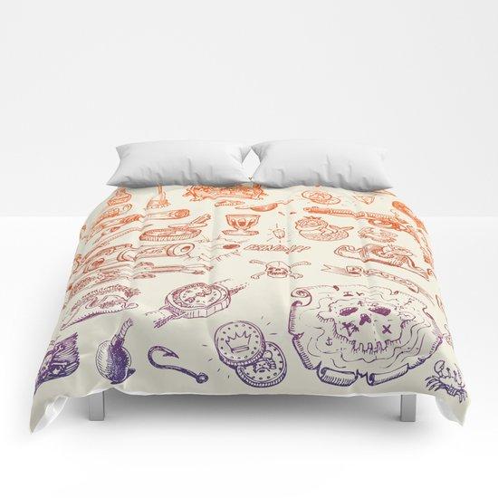 all hands on deck Comforters