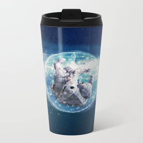 Disruption Metal Travel Mug