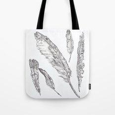 Swedish Feathers Tote Bag
