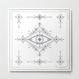 Wild Eye - Day Metal Print