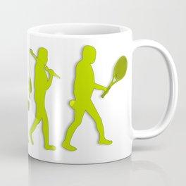 Evolution of Tennis Species Coffee Mug