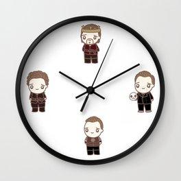 Hiddlespeare Wall Clock