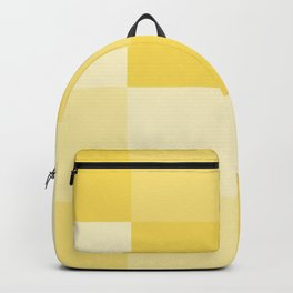 Four Shades of Yellow Square Backpack