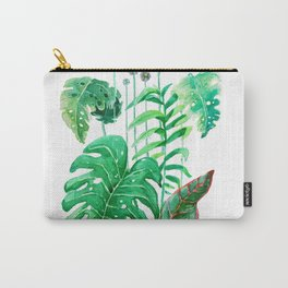 vertical flowers Carry-All Pouch