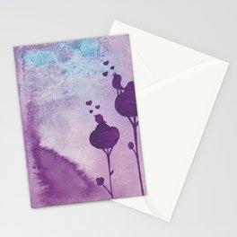 Mensaje de amor  Stationery Cards