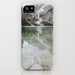 The Calm Mountain Waters iPhone Case