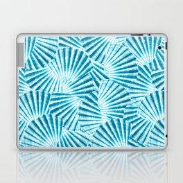 Blue Seashell Laptop & iPad Skin